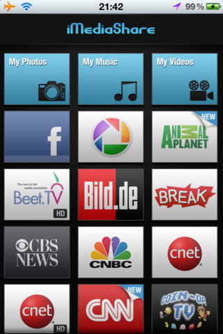 iMediaShare iPhone App review