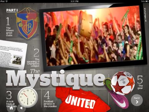 Ringier Studios Champions League iPhone App Review
