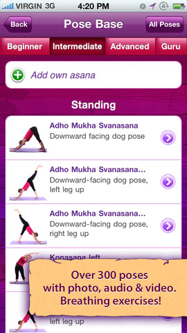 All-in YOGA iPhone App Review