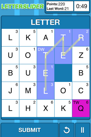 LetterSlide iPhone App Review