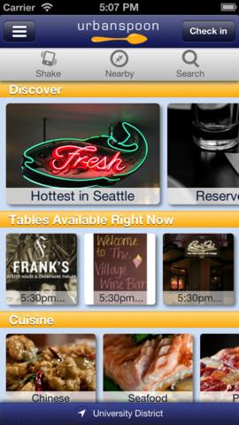 UrbanSpoon iPhone App Review