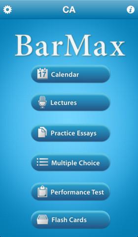 BarMax CA iPhone App Review