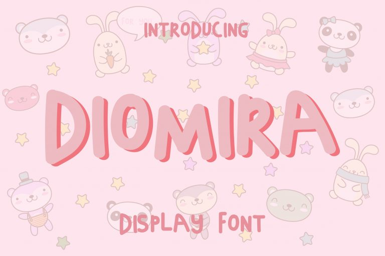 Diomira Display Font