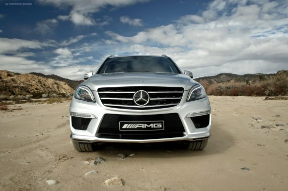 Mercedes-Benz ML 63 AMG by marioroman pictures | Fanaticar-Magazin