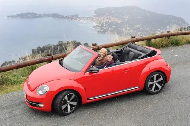 Mit Nicole von Auto-Diva testete ich den neuen Beetle Cabrio von VW