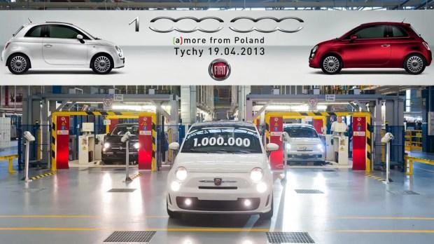 Einmillionster Fiat 500 -Fanaticar Magazin