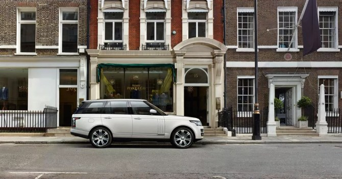 Range Rover Long Wheel Base - Fanaticar