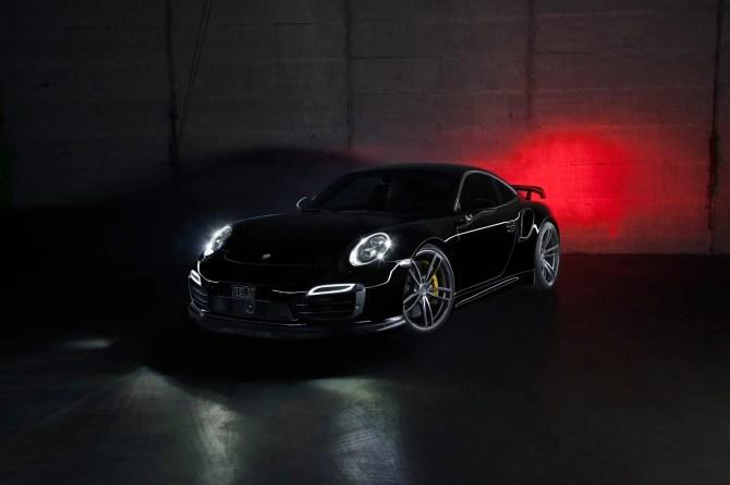 Unterstrichen wird die Potenz der leistungsstärksten Porsche 911 Modelle