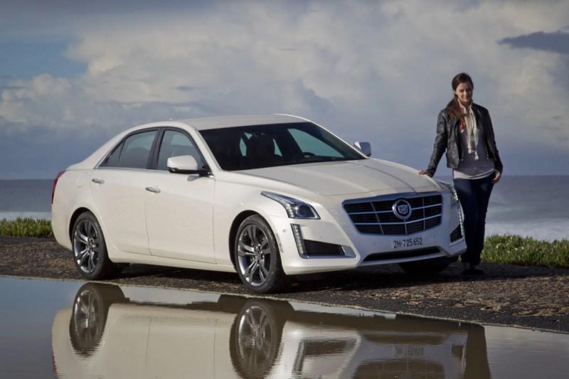 Ich durfte den neuen Cadillac CTS testen.