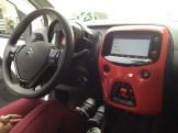 Der Citroen C1 mit Touchscreen un Sunrise Red.