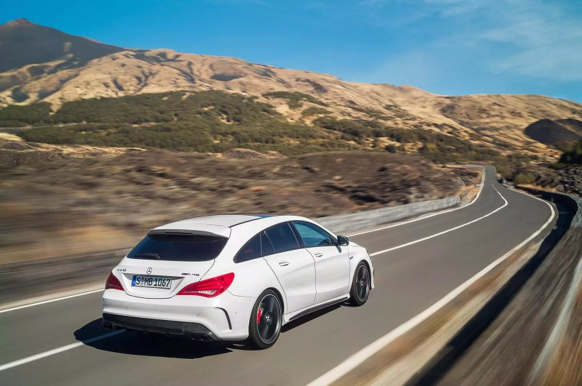 2015 Mercedes-AMG CLA 45 Shooting Brake - Fanaticar Magazin
