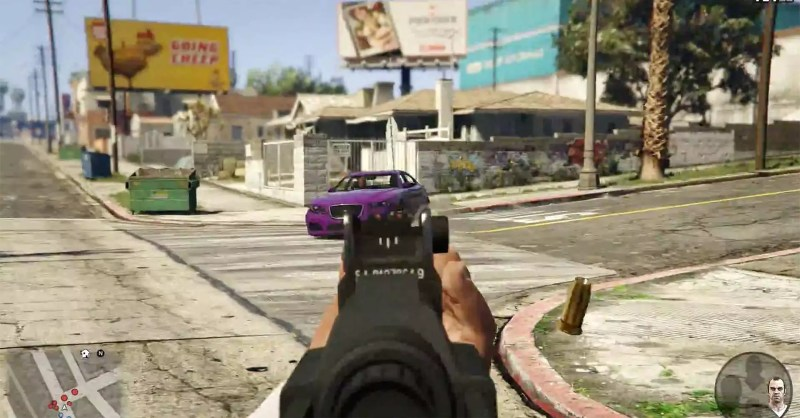 2014 GTA V für Xbox One und PS 4 First Person - Fanaticar Magazin