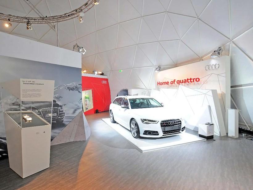 Audi Quattro Lounge Hamburg - Fanaticar Magazin
