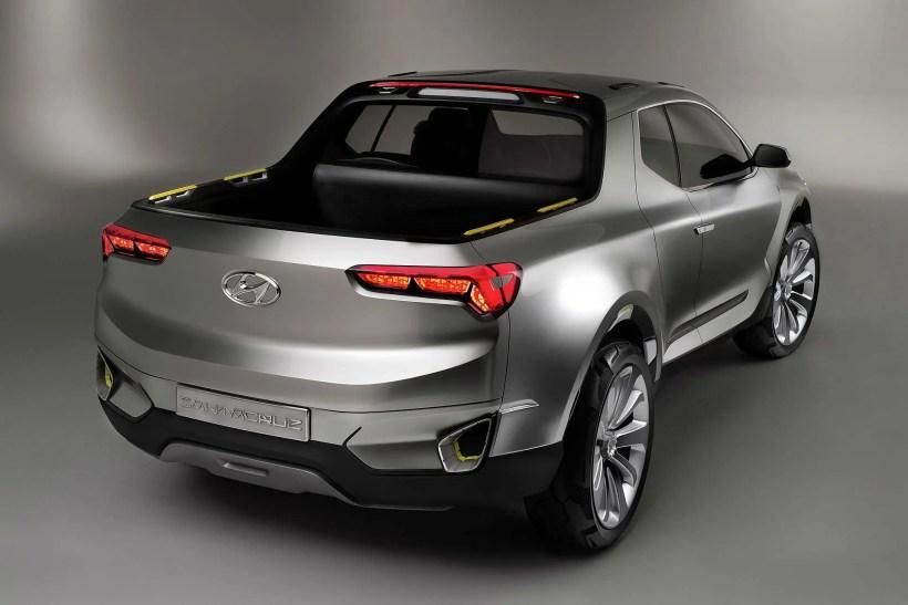 2015 Studie Hyundai Santa Cruz Pick-Up - Fanaticar Magazin