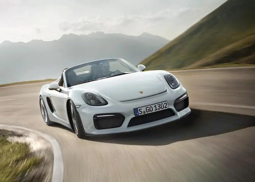 2015 Porsche Boxster Spyder - Fanaticar Magazin