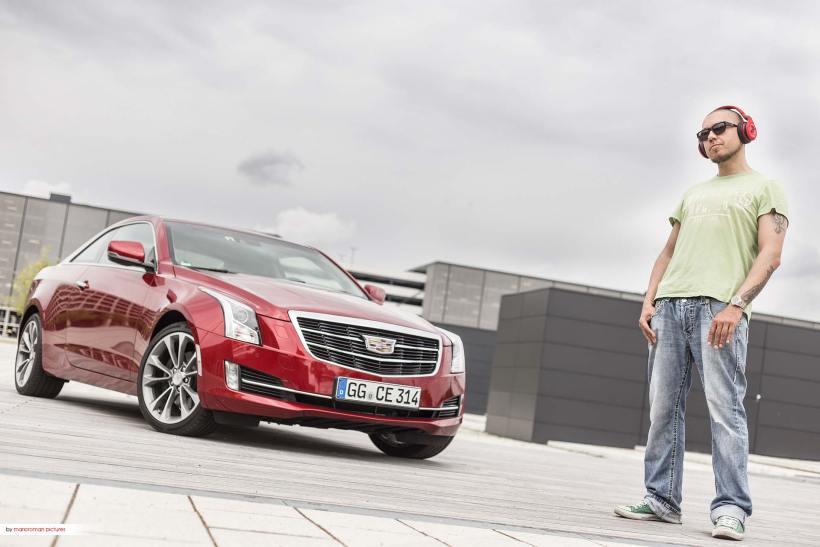 Dj Tomekk - Monster Octagon - Cadillac ATS Coupe  | Fanaticar Magazin