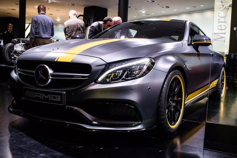 2015 Mercedes-AMG C63 Coupe Edition 1 | Fanaticar Magazin