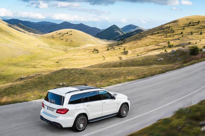 2015 Mercedes-AMG GLS 63  | Fanaticar Magazin