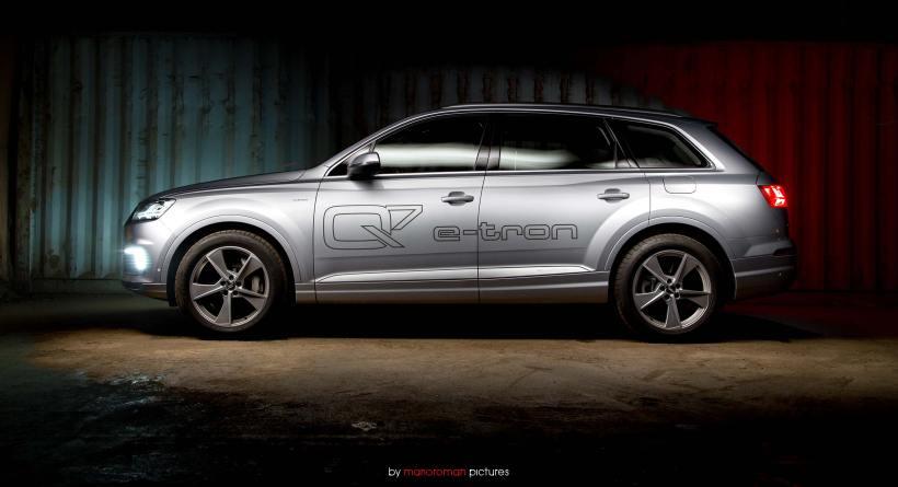 Audi Q7 e-tron quattro   Fanaticar Magazin