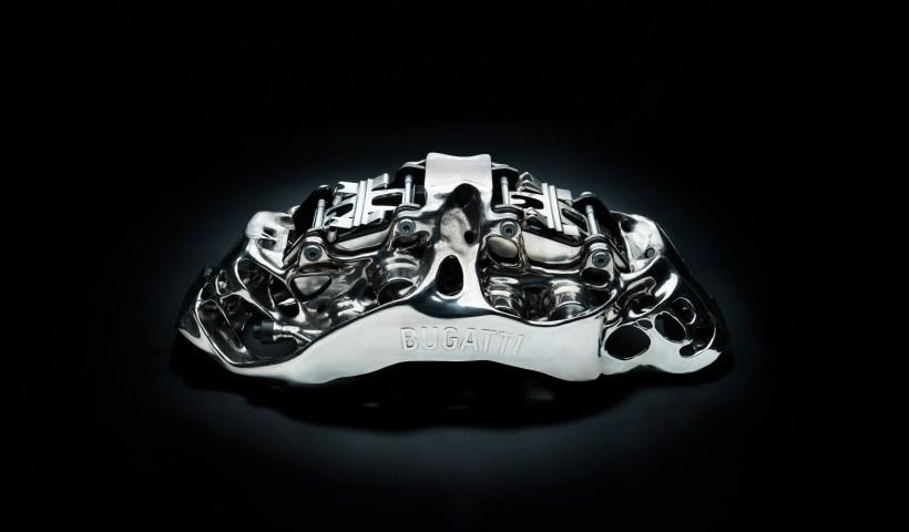 Bugatti 3D-Druck-Bremssattel