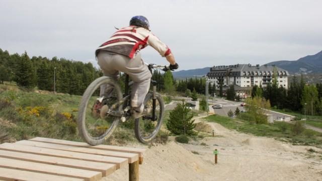 downhill en el Fuerte de Rapitan
