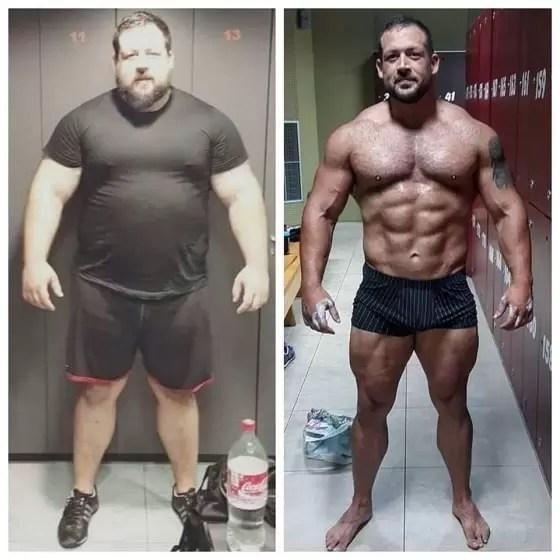 Mesomorfo treino e dieta