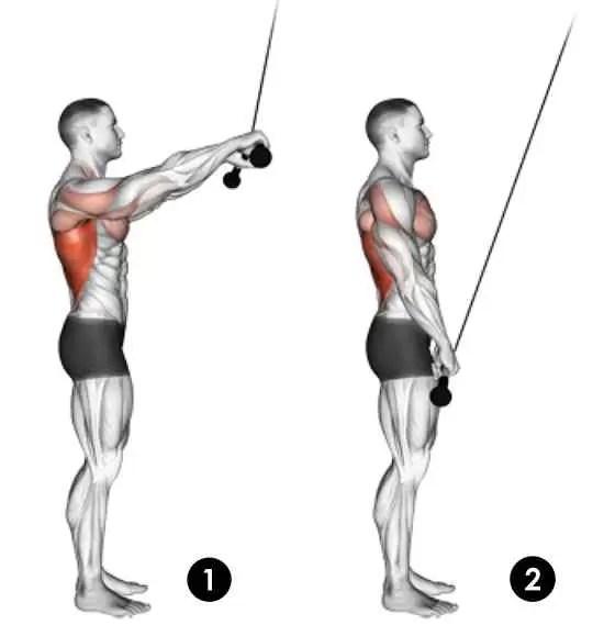 Como fazer o pull down corda ?