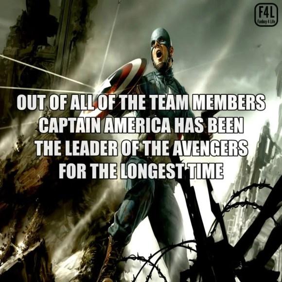 Captain America Fact