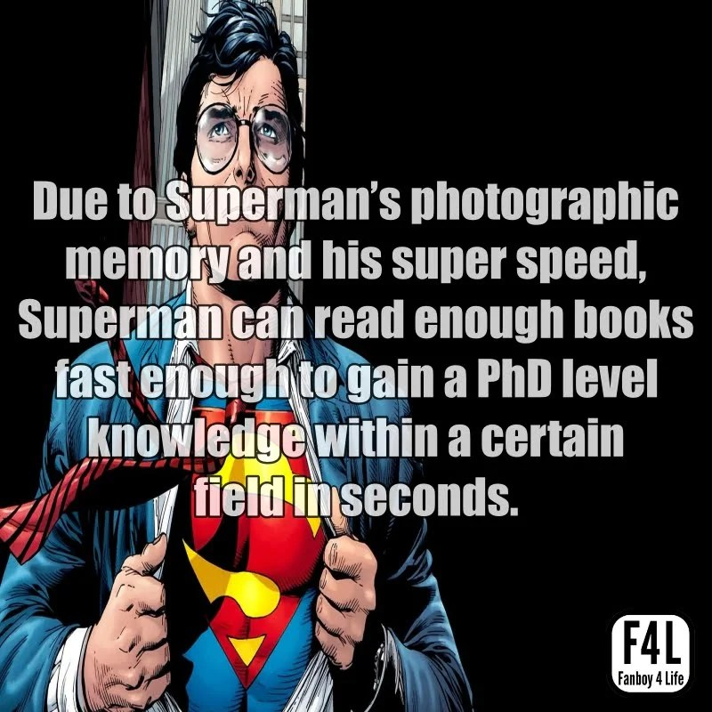Superman Fact