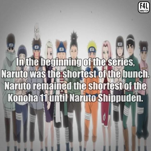 Naruto Facts