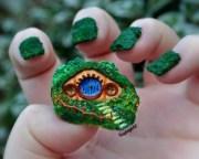 3d hobbit hole and gandalf fingernail