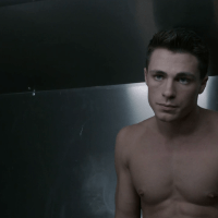 "Colton Haynes as Jackson Whittemore and Keahu Kahuanui as Danny Mahealani shirtless in Teen Wolf 2x06 ""Frenemy"""