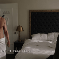 "Brett Dalton as Grant Ward shirtless in Agents of S.H.I.E.L.D 1x09 ""Repairs"""