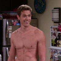 "Christopher O'Shea as Philip Farlow shirtless in Baby Daddy 2x13 ""Play It Again, Bonnie"""