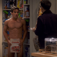 "Andrew Lees as Oliver shirtless/naked in Your Family Or Mine 1x08 ""The Pantry"