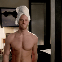 "Jake McDorman as Brian Finch shirtless in Limitless 1x07 ""Brian Finch's Black Op"""