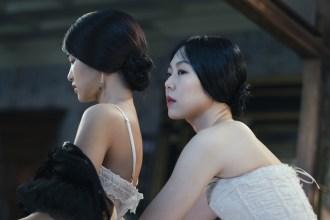 Sook-Hee (Kim Tae-ri) and Lady Hideko (Kim Min-hee)