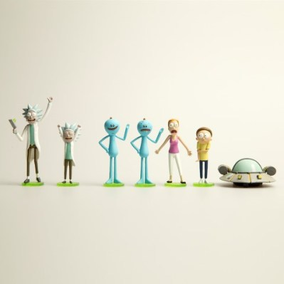 Rick and Morty Blind-Box Mini Figures