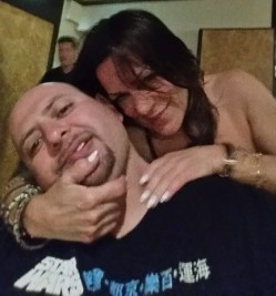 Expose's Gioia Bruno playing Chiropractor on me.