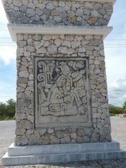 A ruin in Costa Maya
