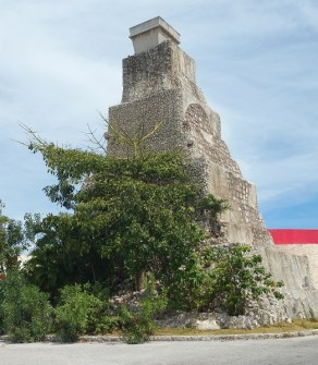 A temple in Costa Maya.