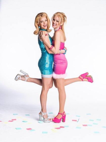 Cortney Wolfson as Romy and Stephanie Renee Wall as Michele in Romy and Michele's High School Reunion - Photo Credit: Mark Kitaoka