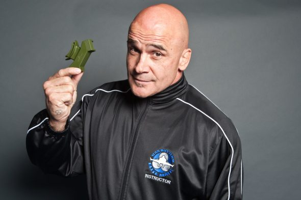 Bas Rutten sporting his O2 Oxygen Trainers