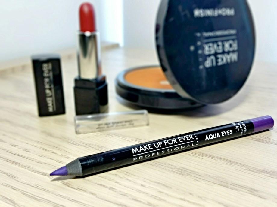 Make Up For Ever 11L Metallic Purple Aqua Eyes Eyliner