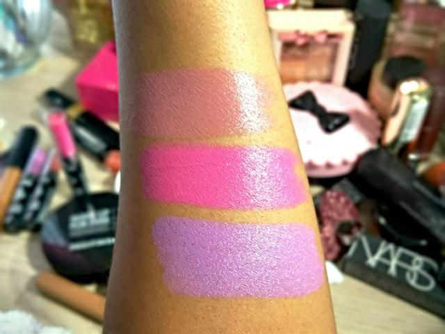 NYX Flutter Kiss, Privileged Playdate High Voltage Lipstick