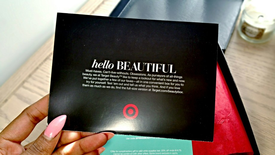 Target Spring Beauty Box 2015