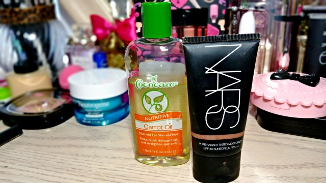 NARS Pure Radiance Tinted Moisturizer, CocoCare Nutritive Carrot Oil
