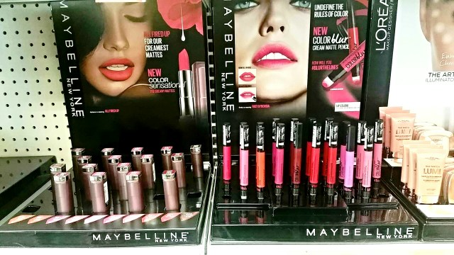 Maybelline Color Sensational Creamy Matte Lipsticks 2015, Color Blur Cream Matte Pencils