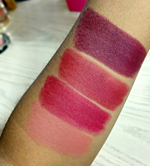 Milani Matte Fearless, Matte Love, Matte Flirty, Matte Beauty Color Statement Matte Lipstick