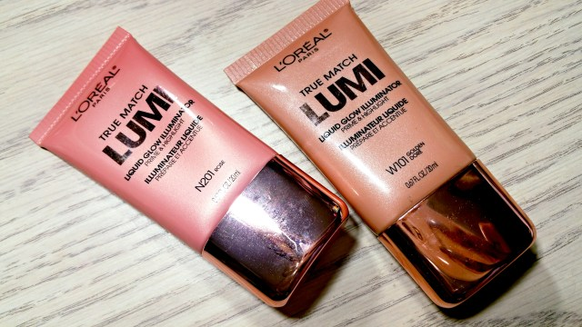 L'Oreal Golden, Rose True Match Lumi Liquid Glow Illuminator